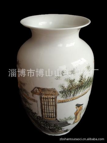 廠家專業供應 精品陶瓷骨質瓷手繪花瓶