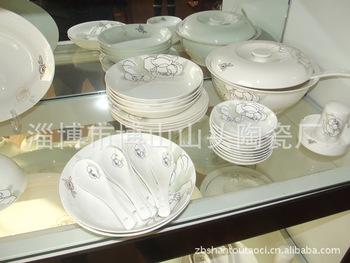 廠家專業供應 24頭骨質瓷餐具