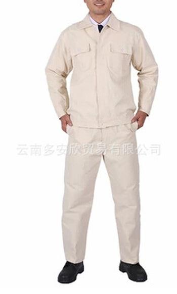 【厂家定制】电焊服劳保服 吸湿排汗男女款套装劳保服批发