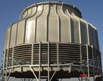 冷卻塔/玻璃鋼冷卻塔/瓦房店圓形混流式玻璃鋼冷卻塔