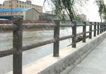 2015年遂宁力达公司新款仿木栏杆/仿树皮栏杆