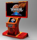 正品行货2折投篮机55寸液晶显示器老少皆宜广州五金 液晶屏篮球机