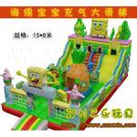 猪猪侠充气滑梯 SL-003 【占地120平方】