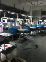 深圳平湖光電公司玻璃精雕機降溫用雅克機柜空調-外掛式