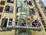 廣州大學城外墻玻璃更換