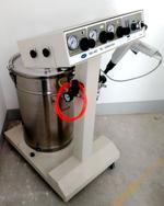苏州康兴杰静电涂装机粉末喷涂机静电喷枪