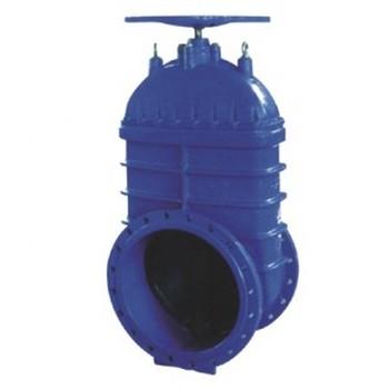 RVHX型大口徑彈性暗桿軟密封閘閥 環氧噴涂手動閘閥價格