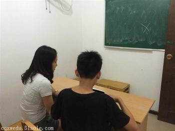 重庆艺术生高考辅导高中在哪南岸区高中文化课闫丹丹学校图片