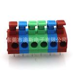 廠家直銷FS1.5-XX-500-06 免螺絲接線端子臺