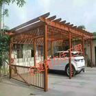 供银川锌钢木纹花架和宁夏花箱优质价廉