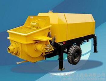 XBS系列細石混凝土輸送泵    電器部分采用PLC控制具有*佳操控特性