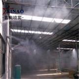 料仓水雾降尘设备 高压喷雾除尘系统