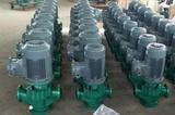 氟塑料管道泵GDF型防腐蚀耐酸碱立式化工泵衬四氟离心工业增压泵
