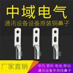 鍍錫雙孔銅鼻子JG2-25-6 華為 思科 通信設備專用雙孔線鼻子 原裝