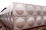 畢節圓形水箱規格 貴陽海翔鑫不銹鋼制品供應