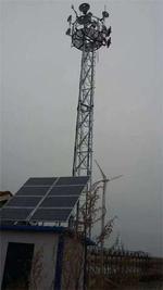 黑龍江哈爾濱高速公路太陽能監控系統森林防火太陽能供電監控系統
