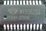 廠家直供MY9262內置PWM灰階調變的LED恒流IC