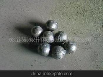 批發供應低鉻球磨機30-50號低鉻鋼球