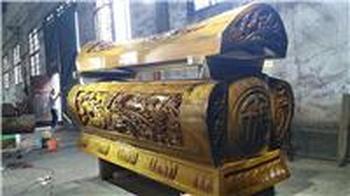 梅州金丝楠木棺材寿材出售