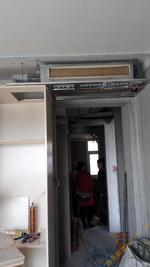 无锡格力空调施工细节