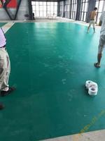 廣西羽毛球比賽專用PVC膠地板,南寧減震彈性PVC膠地板包施工包畫線