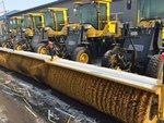 哈尔滨除雪设备雪滚雪铲撒盐机厂家