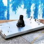 廈門泳池人工吸污設備,不銹鋼吸污盤,手拉式吸污器
