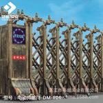 江门厂家直销铝合金遥控智能电动伸缩门/贵州学校工厂韶关感应门