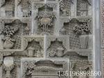 臨夏回族自治州地區品質好的古建筑磚雕_平涼古建筑磚雕廠家