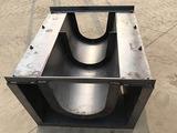 U型流水槽模具-混凝土U型槽模具-振通模具
