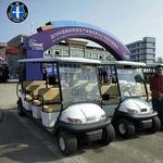 供應電動高爾夫球車 休閑電動高爾夫觀光車 全新車系 更新更減震用不生銹