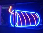 霓虹燈廣告設計