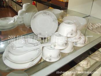 廠家長期供應 24頭骨質瓷餐具