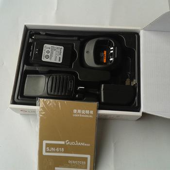 厂家直销  sjn-618专业级索佳尼镍镉电池手持台对讲机批发 正品