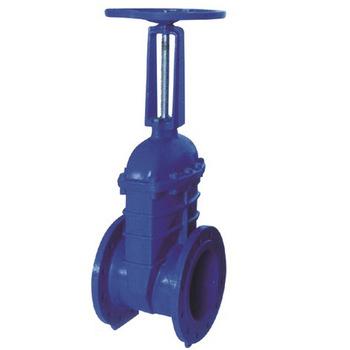 耐酸堿球墨鑄鐵德標彈性軟密封閘閥 優質耐腐蝕軟密封閘閥廠家
