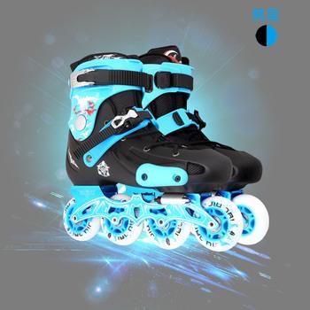 新款FRM蝙蝠侠成人直排溜冰鞋 轮滑鞋成年 成人平花鞋