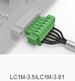 替換PHOENIX端子 MC1.5/2-ST-3.81 繼保專業插拔式接線端子 阻燃