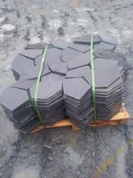 江西黑色冰裂纹青石板,锈色冰裂纹青石板,金誉石材厂
