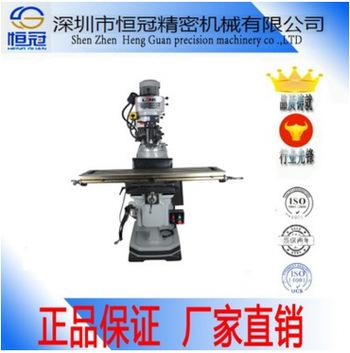 深圳厂家热销3号4号5号铣床 台正机身精密立式炮塔铣床 一件代发