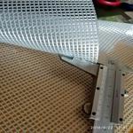 1mm毫米厚阻燃防水PVC夾網布
