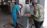 食品加工廠地面保潔Abila17B手推式洗地機