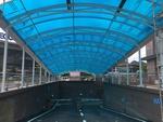 厂家直销阳光板停车棚耐力板停车棚阳光板雨棚价格优惠质量保证阳光板车库出入口雨棚