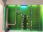 岳阳楼厂家直销自来水分水器,一户一表改造分水器