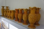 批發榧木雕刻花瓶