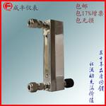 成豐儀表玻璃轉子流量計面板式非標定制瑪瑙球浮子不銹鋼波峰焊