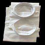 廠家直銷PTFE針刺氈除塵布袋  耐高溫耐酸堿除塵器濾袋收塵袋