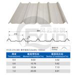 苏州彩钢板 彩钢压型板生产厂家840型彩钢瓦可做顶板和墙板