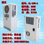深圳石巖光電公司玻璃機電柜降溫用雅克機柜空調-外掛式