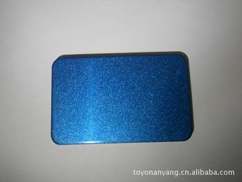 供應寶藍色珠光鋁塑板 建筑幕墻板材 裝飾面板