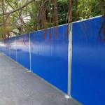 廣西泡沫夾芯板丨市政施工擋板價格丨彩鋼夾芯板擋板廠家